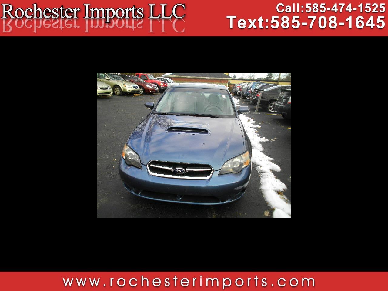 2005 Subaru Legacy Sedan (Natl) 2.5 GT Ltd Auto Black Interior