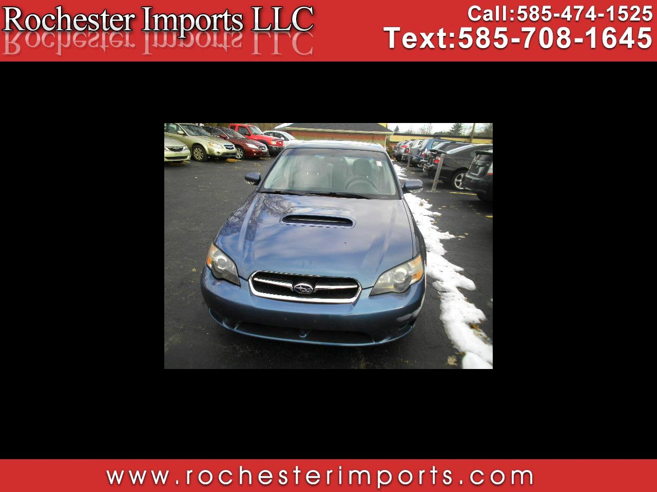 2005 Subaru Legacy Sedan (Natl) 2.5 GT Ltd Auto Black Interior