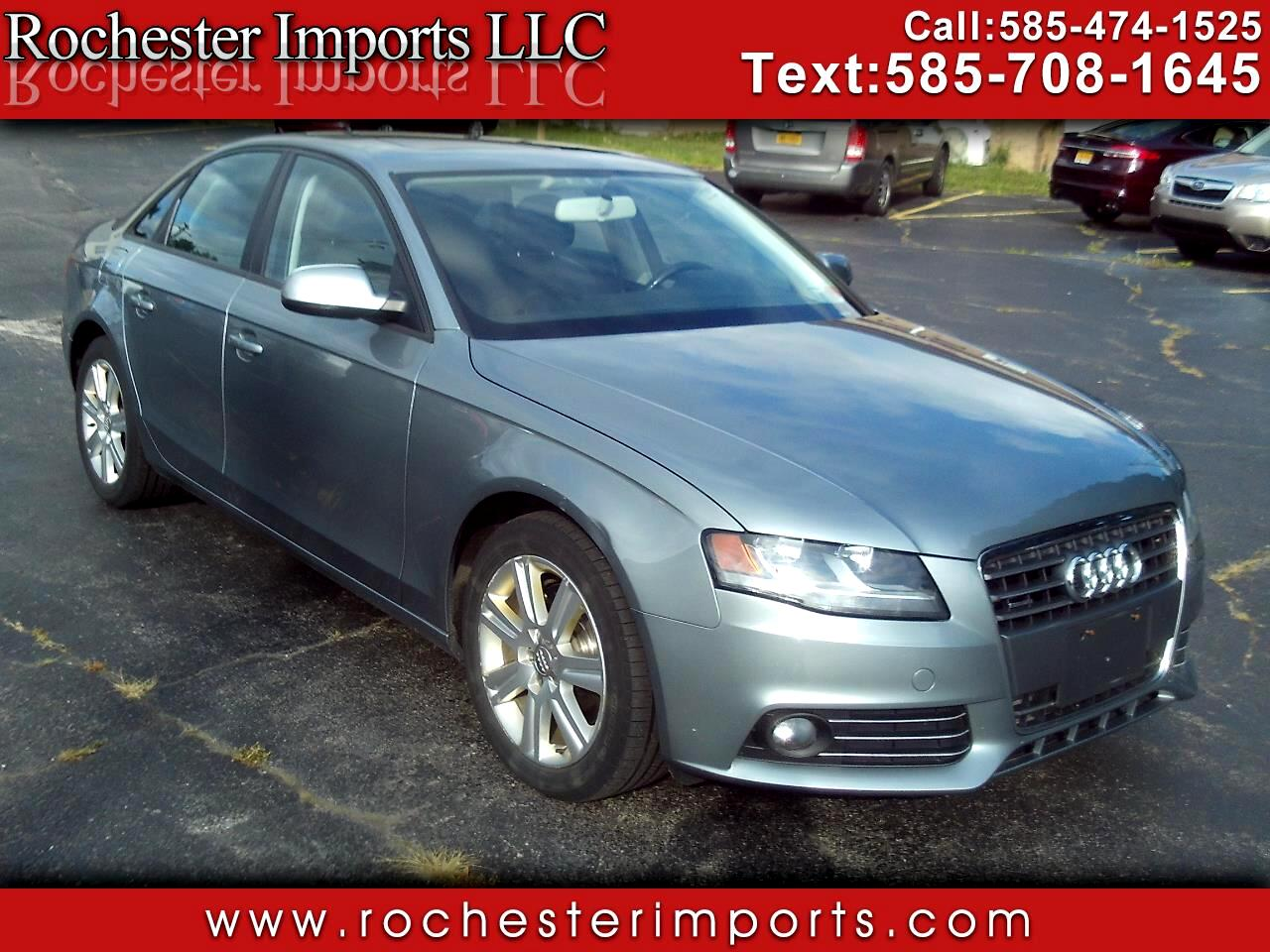Used 2011 Audi A4 for Sale in Webster, NY 14580 Rochester