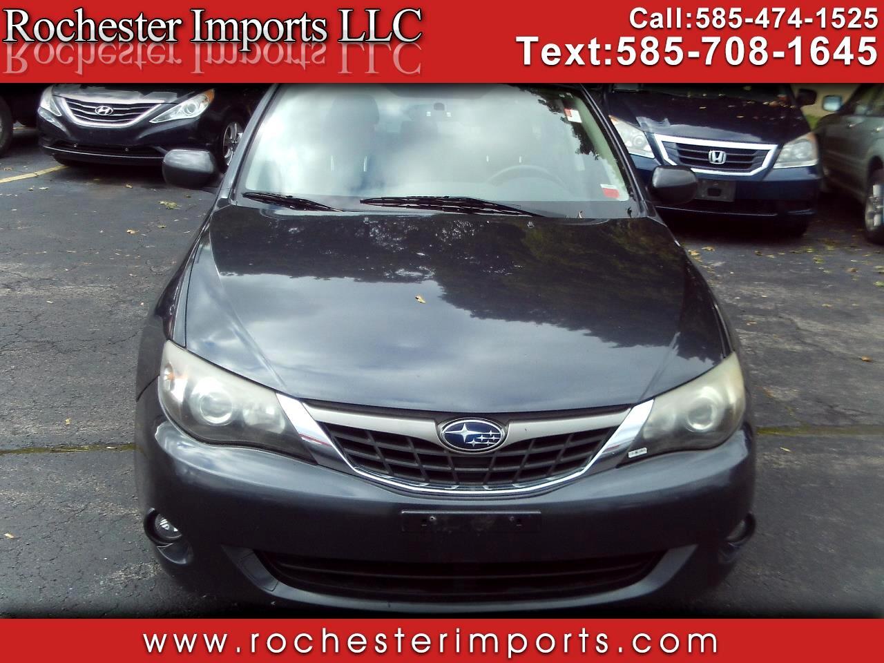 Subaru Impreza Sedan 4dr Auto i w/Premium Pkg 2009