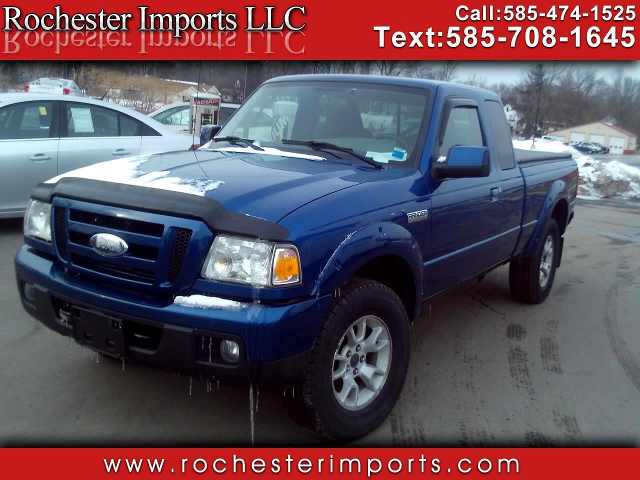 "Ford Ranger 4WD 4dr SuperCab 126"" FX4 Lvl II 2007"