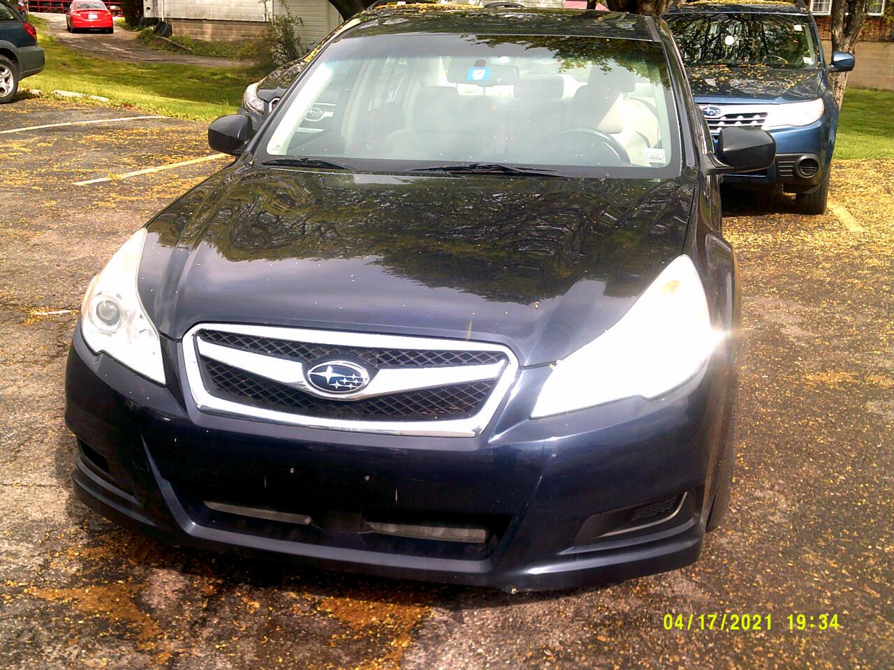 Subaru Legacy 4dr Sdn H6 Auto 3.6R Premium 2012