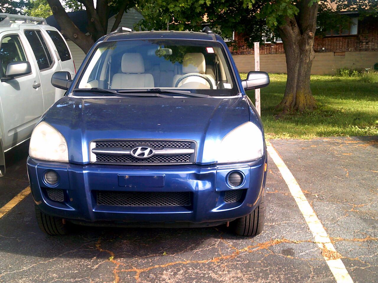 Hyundai Tucson FWD 4dr I4 Man GLS 2008