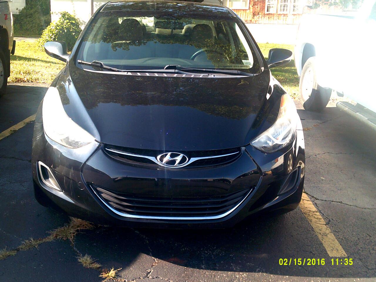 Hyundai Elantra 4dr Sdn Man GLS (Alabama Plant) 2012