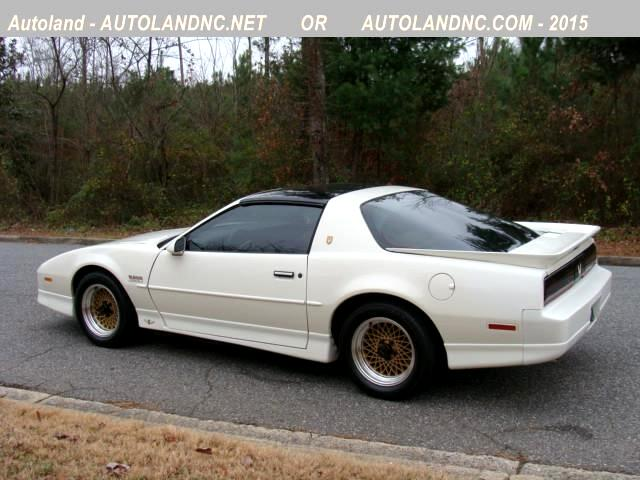 Buy Here Pay Here 1989 Pontiac Trans Am 20th Anniversary ...