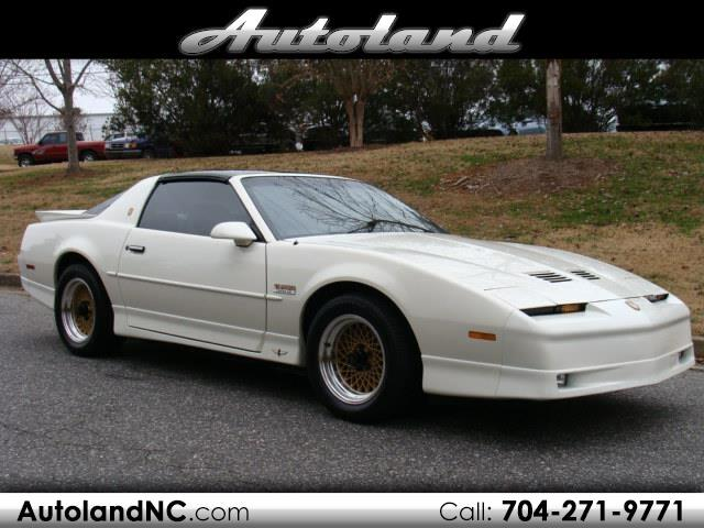 1989 Pontiac Trans Am 20th Anniversary Edition