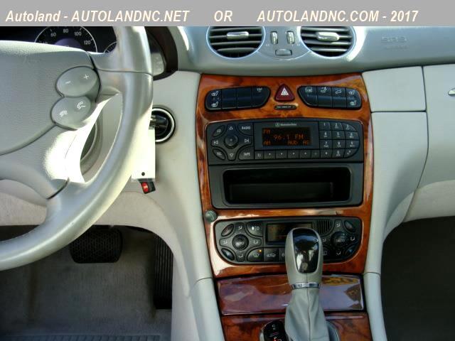 2004 Mercedes-Benz CLK-Class CLK500 Cabriolet