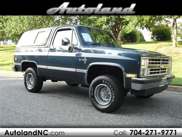 1988 Chevrolet Blazer 2WD