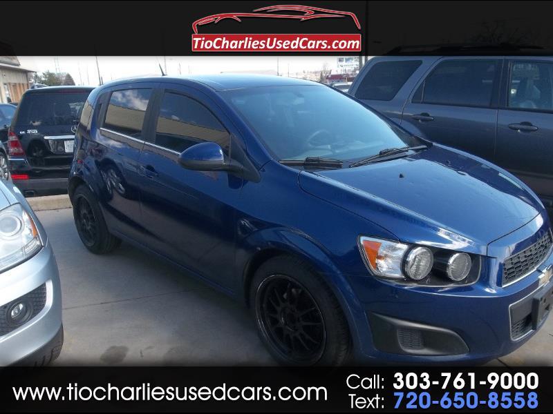 2014 Chevrolet Sonic LT Manual 5-Door