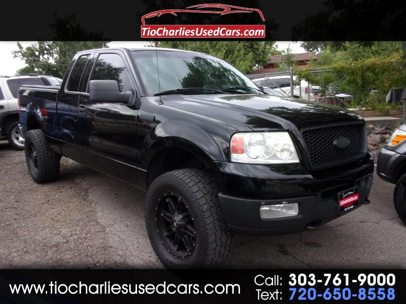 2004 Ford F-150 XLT SuperCab 5.5-ft Box 4WD