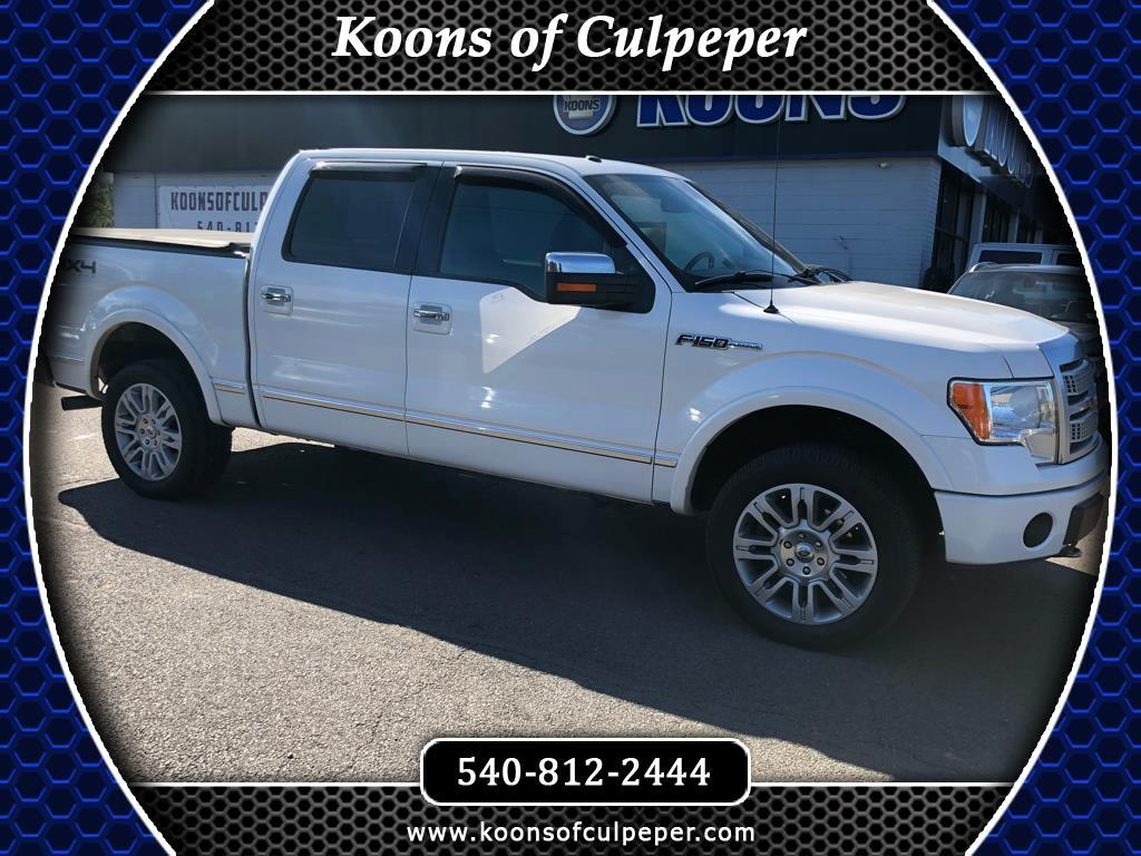 2010 Ford F-150 Platinum 4x4 Short Bed