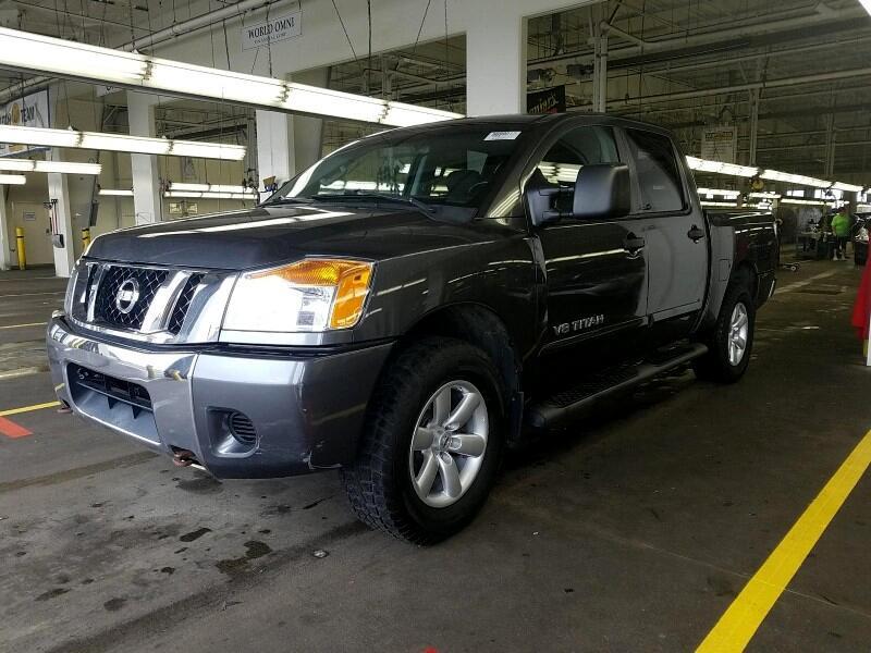 2012 Nissan Titan SV Crew Cab 4WD