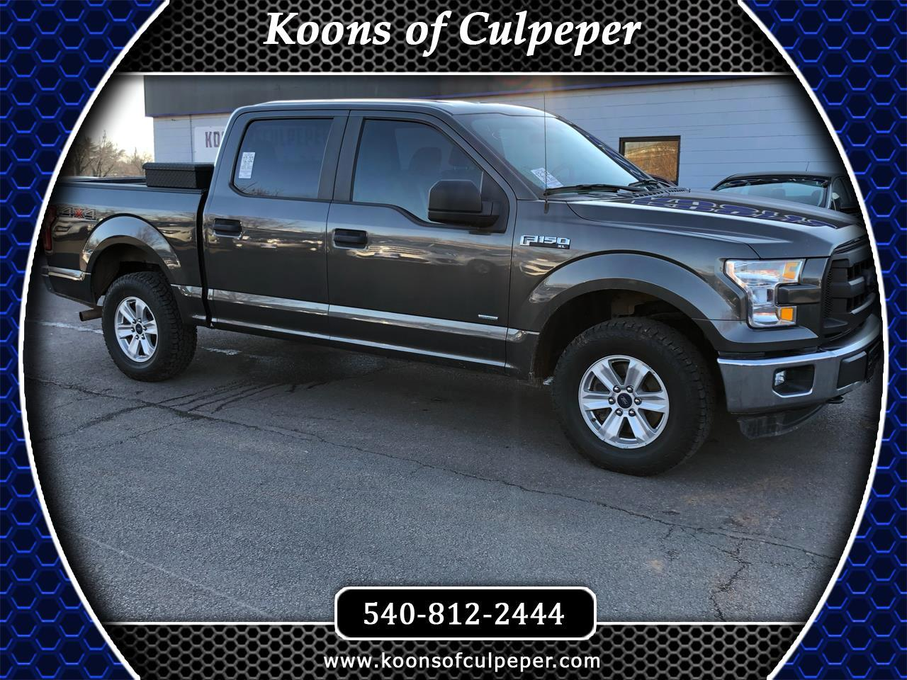 2016 Ford F-150 XL 4WD