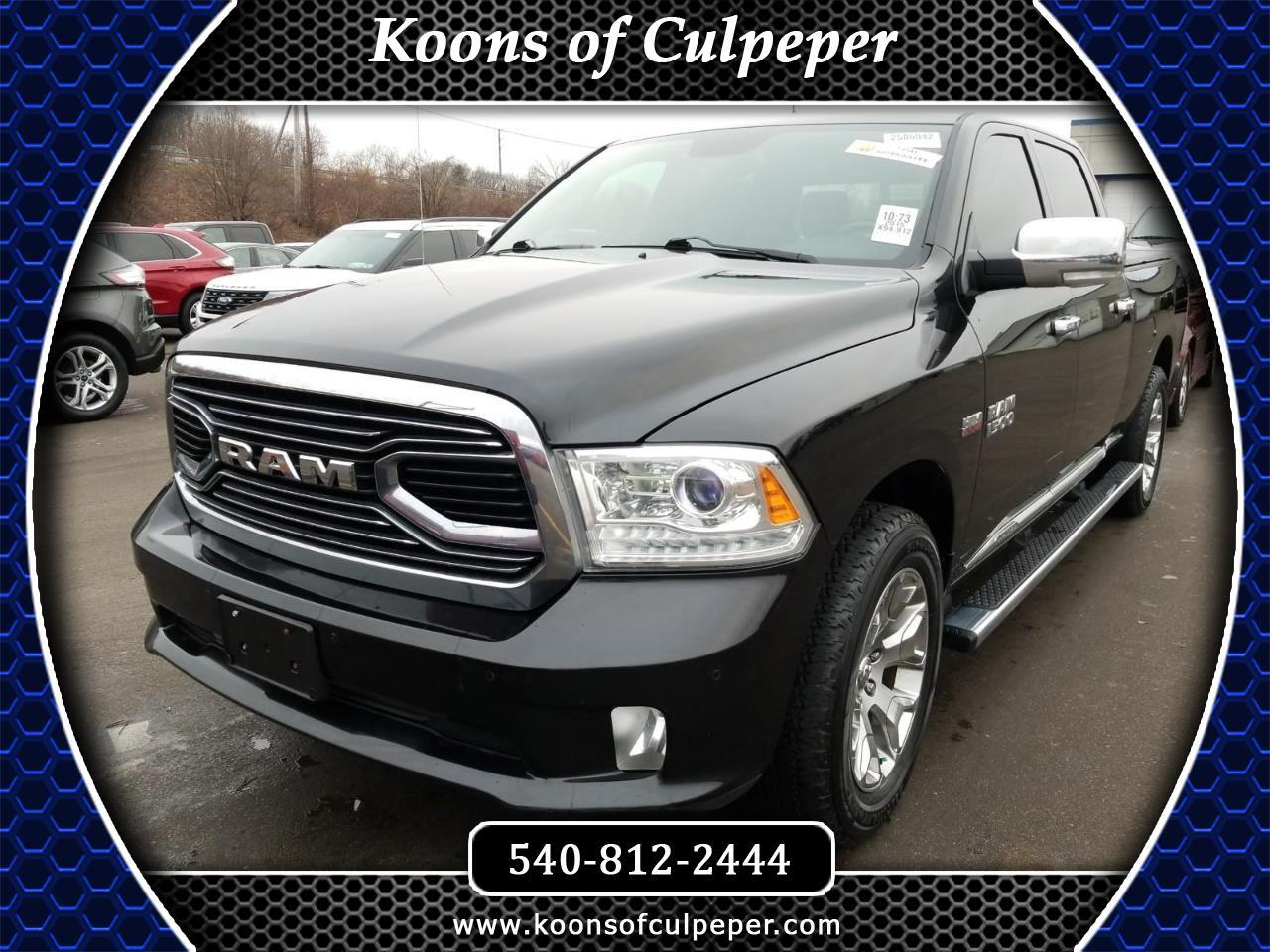 "2015 RAM 1500 4WD Crew Cab 140.5"" Laramie Limited *Ltd Avail*"