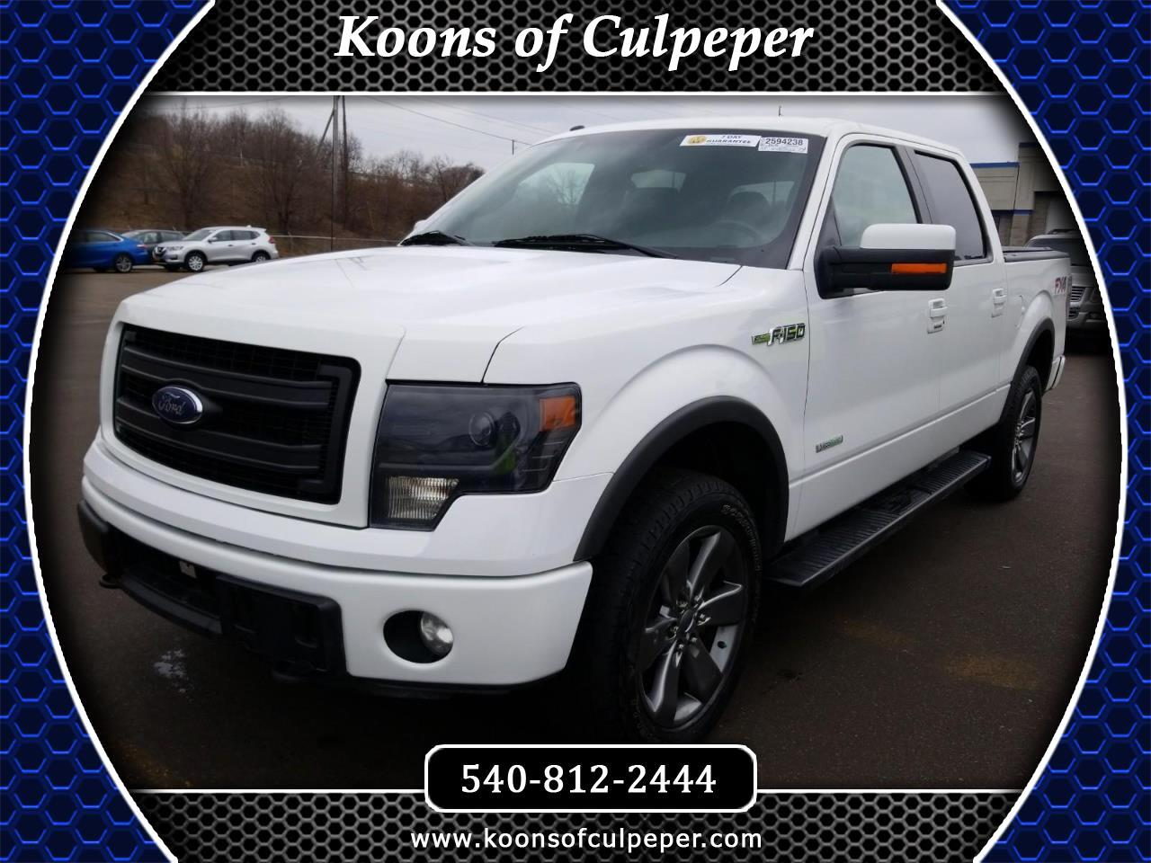 """2014 Ford F-150 4WD SuperCrew 145"""" FX4"""