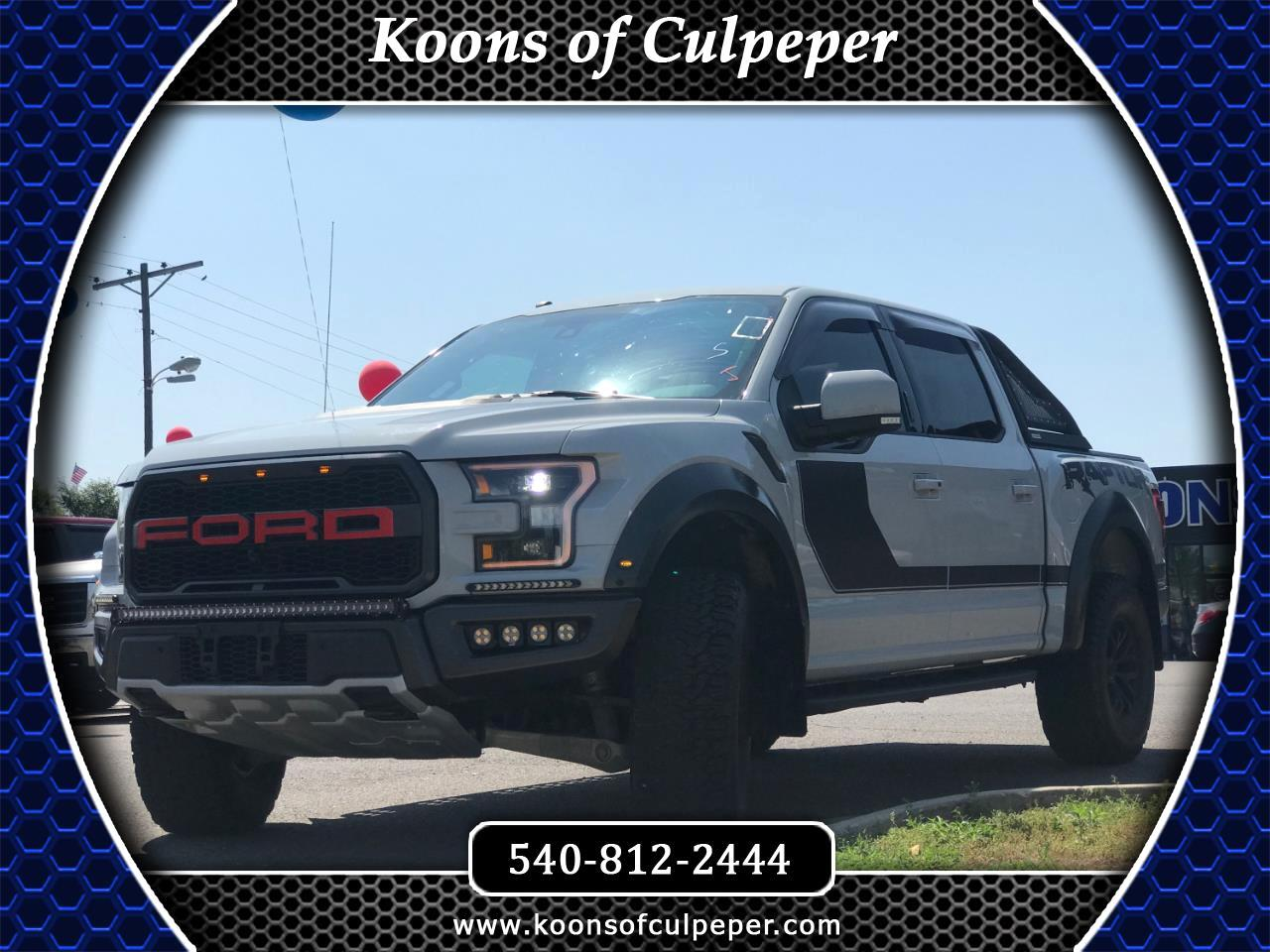 2017 Ford F-150 Raptor SuperCrew 4WD