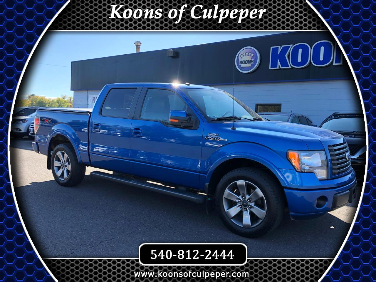 "2010 Ford F-150 2WD SuperCrew 145"" FX2"