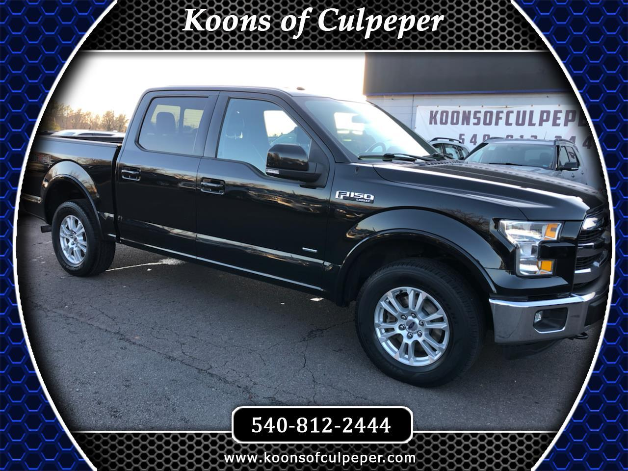 "Ford F-150 4WD SuperCrew 145"" Lariat 2015"