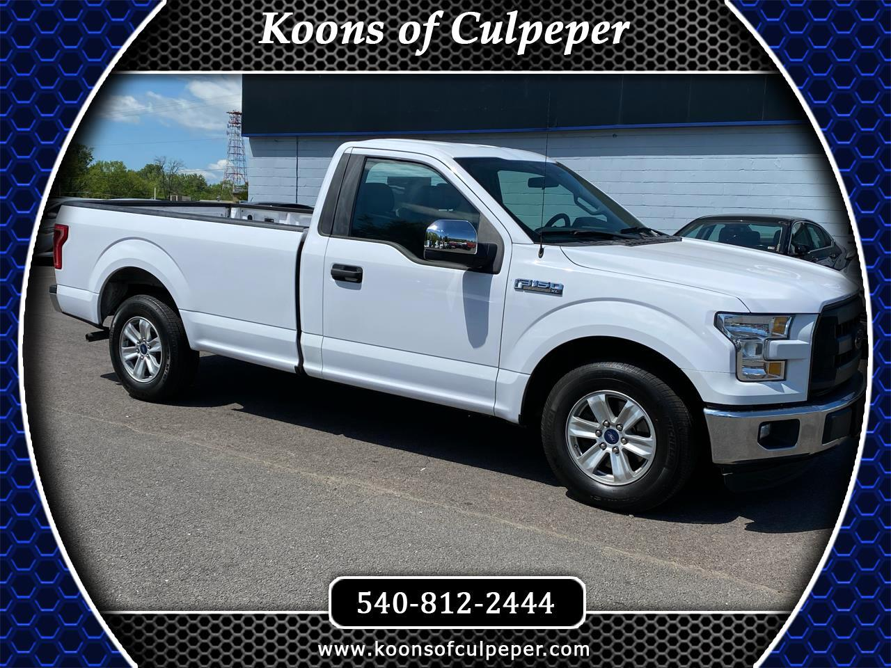 Ford F-150 XL 2WD 2016