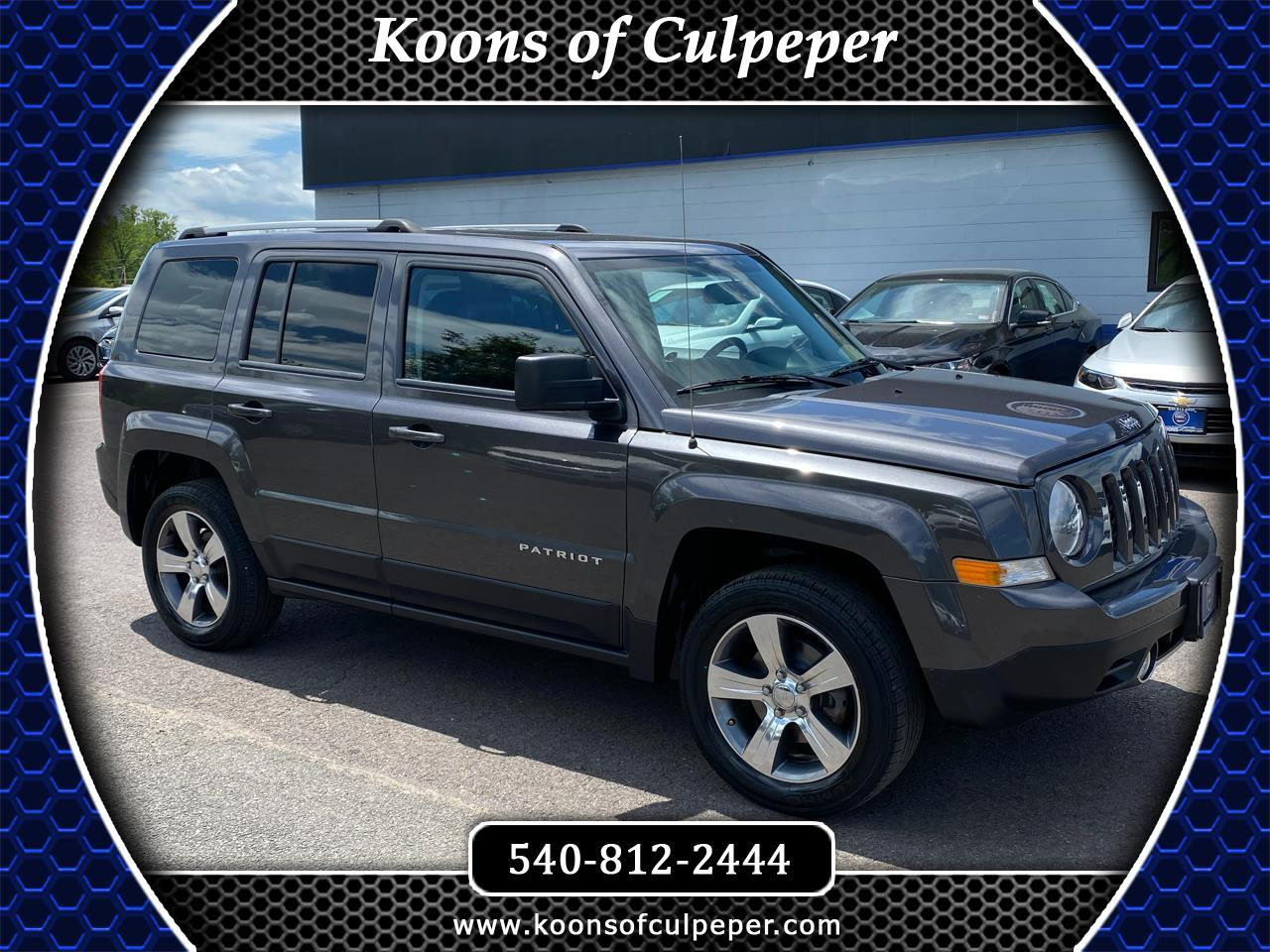 Jeep Patriot 4WD 4dr High Altitude 2017