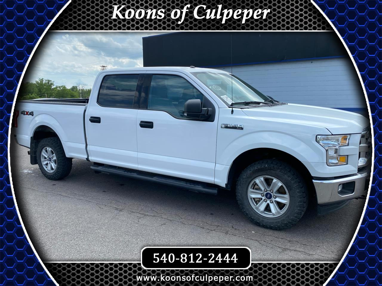 Ford F-150 XLT 4WD 2016
