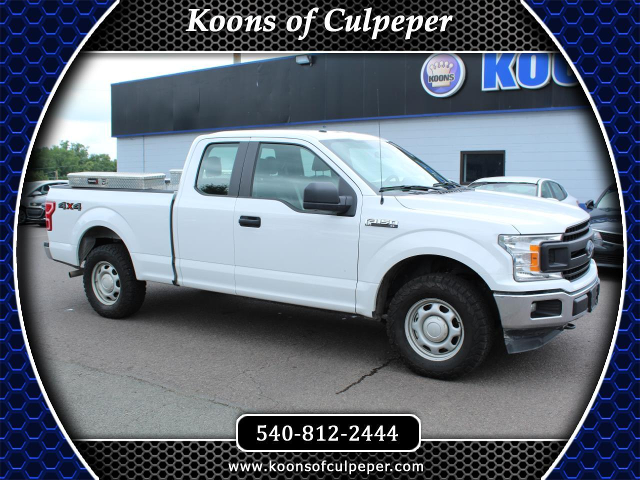 Ford F-150 XL SuperCab 6.5-ft. Bed 2WD 2019
