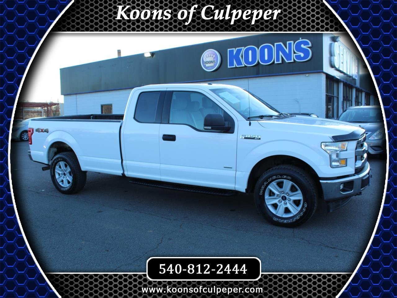 Ford F-150 XLT SuperCab 4WD 2017