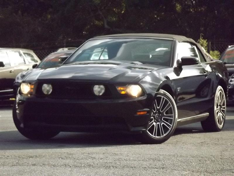 2010 Ford Mustang GT convertible