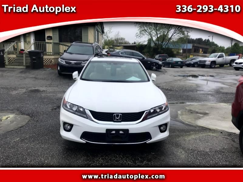 2015 Honda Accord EX-L Coupe CVT