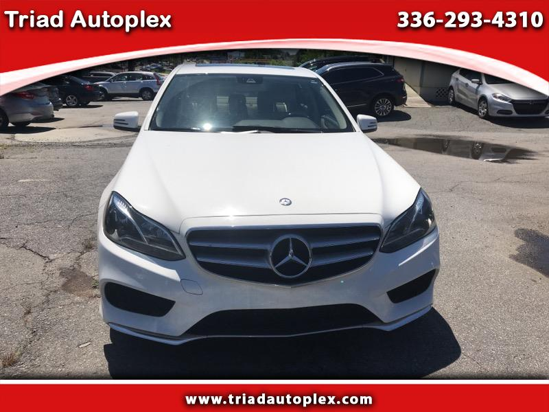 2015 Mercedes-Benz E-Class E250 Sport BlueTEC Sedan