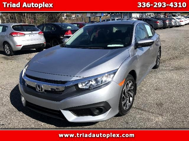 2016 Honda Civic EX Honda Sensing Sedan CVT