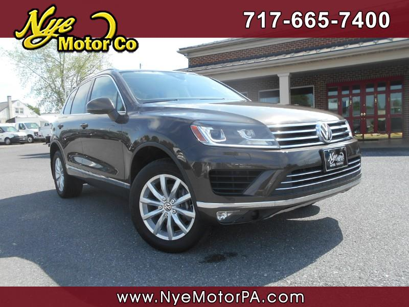 2016 Volkswagen Touareg VR6 SPORT WITH TECH