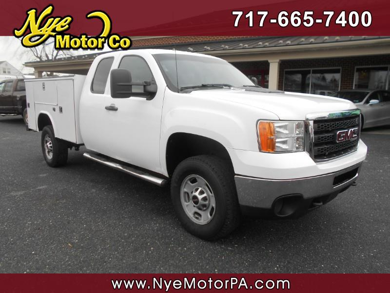 GMC Sierra 2500HD Work Truck Ext. Cab 4WD 2011