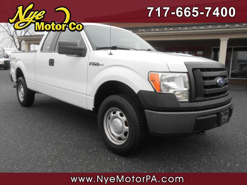 Ford F-150 XL SuperCab 6.5-ft. Bed 4WD 2011