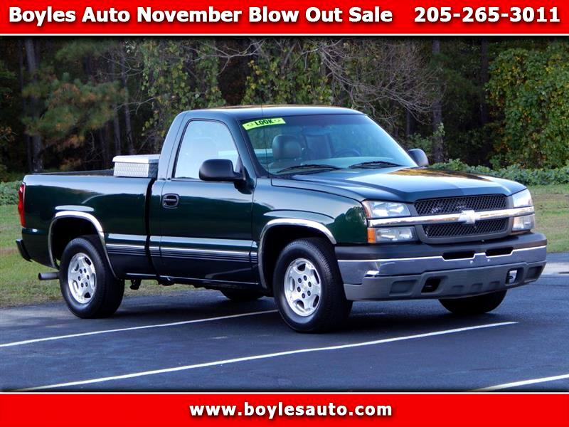 2003 Chevrolet Silverado 1500 LS Long Bed 2WD