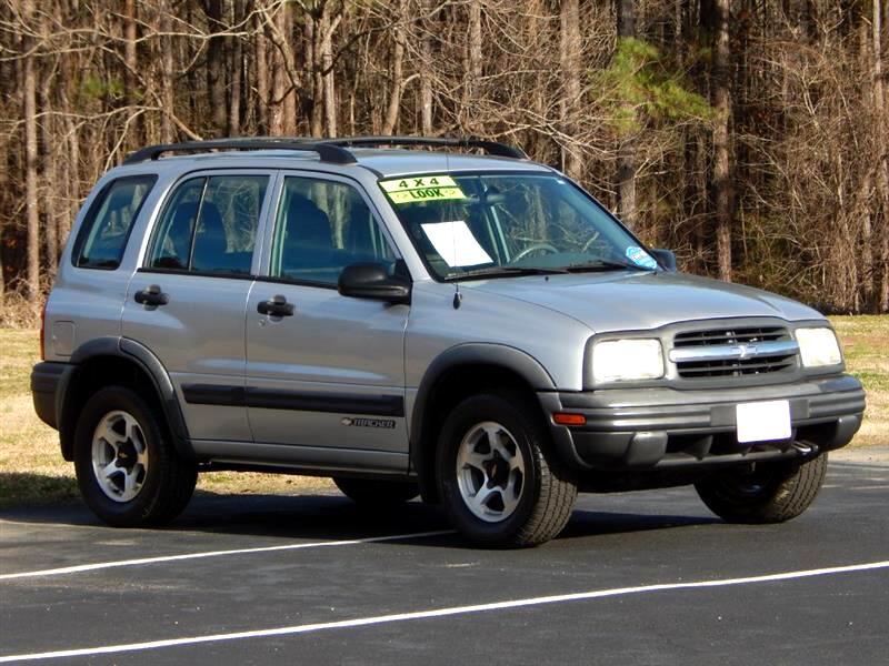 2002 Chevrolet Tracker ZR2 4-Door Hardtop 4WD