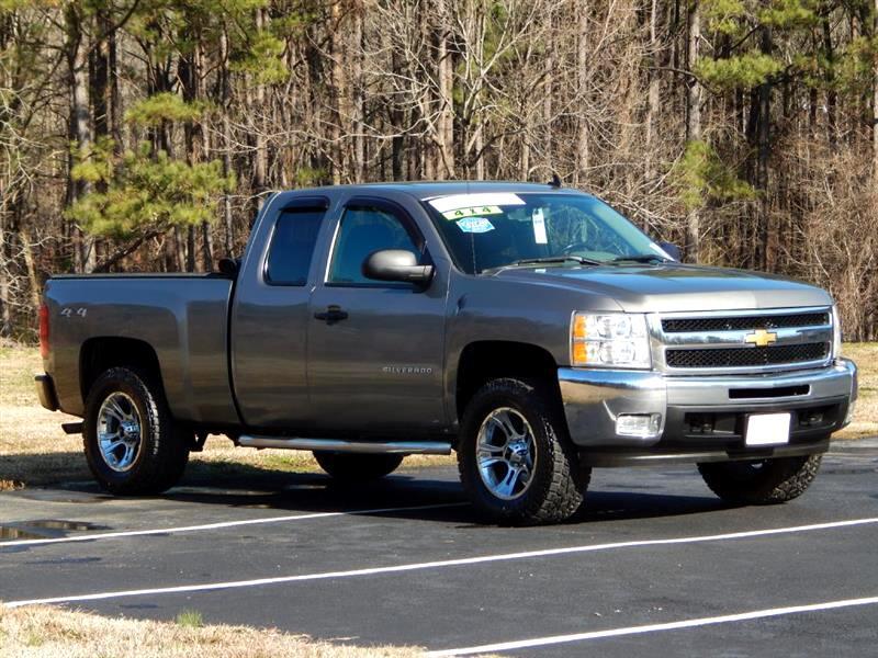 2013 Chevrolet Silverado 1500 Work Truck Ext. Cab 4WD