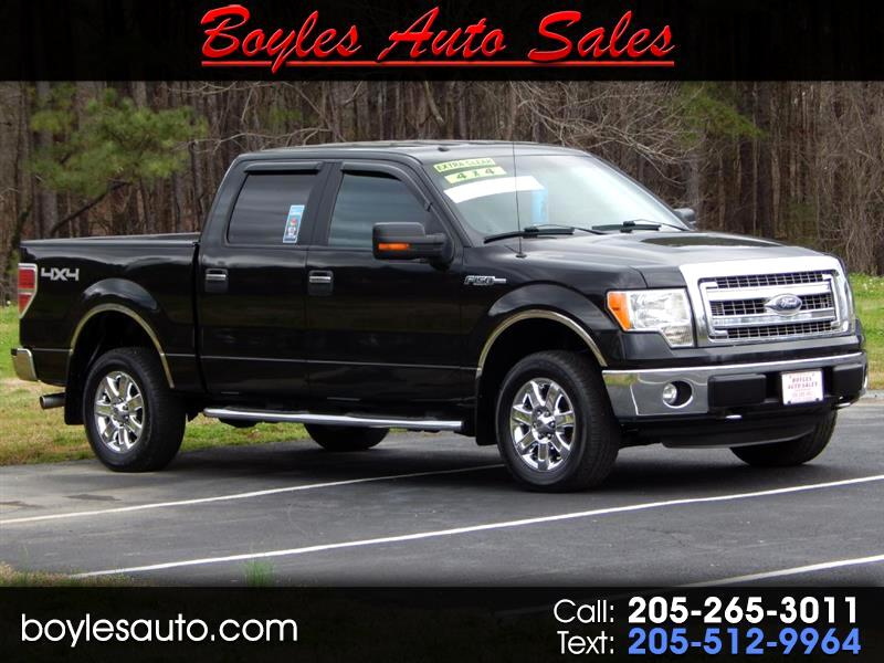 2013 Ford F-150 XL SuperCrew 5.5-ft. Bed 4WD
