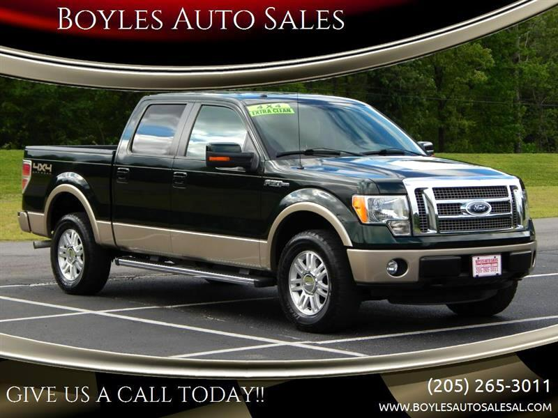 Ford F-150 XL SuperCrew 5.5-ft. Bed 4WD 2012