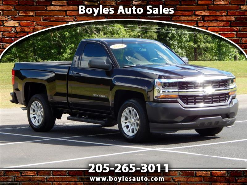 Chevrolet Silverado 1500 Work Truck Long Box 2WD 2018