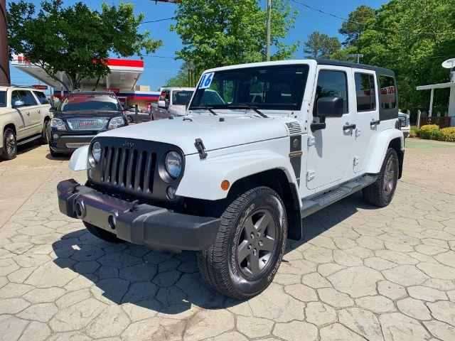 2016 Jeep Wrangler Unlimited Freedom 4WD