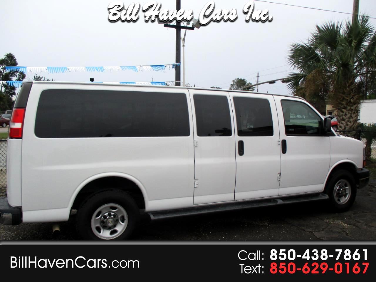 "2015 Chevrolet Express Passenger RWD 3500 155"" LT w/1LT"