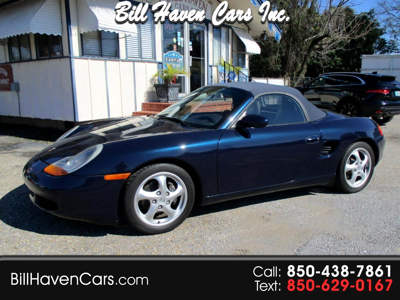 Porsche Boxster 2dr Roadster 5-Spd Manual 1999