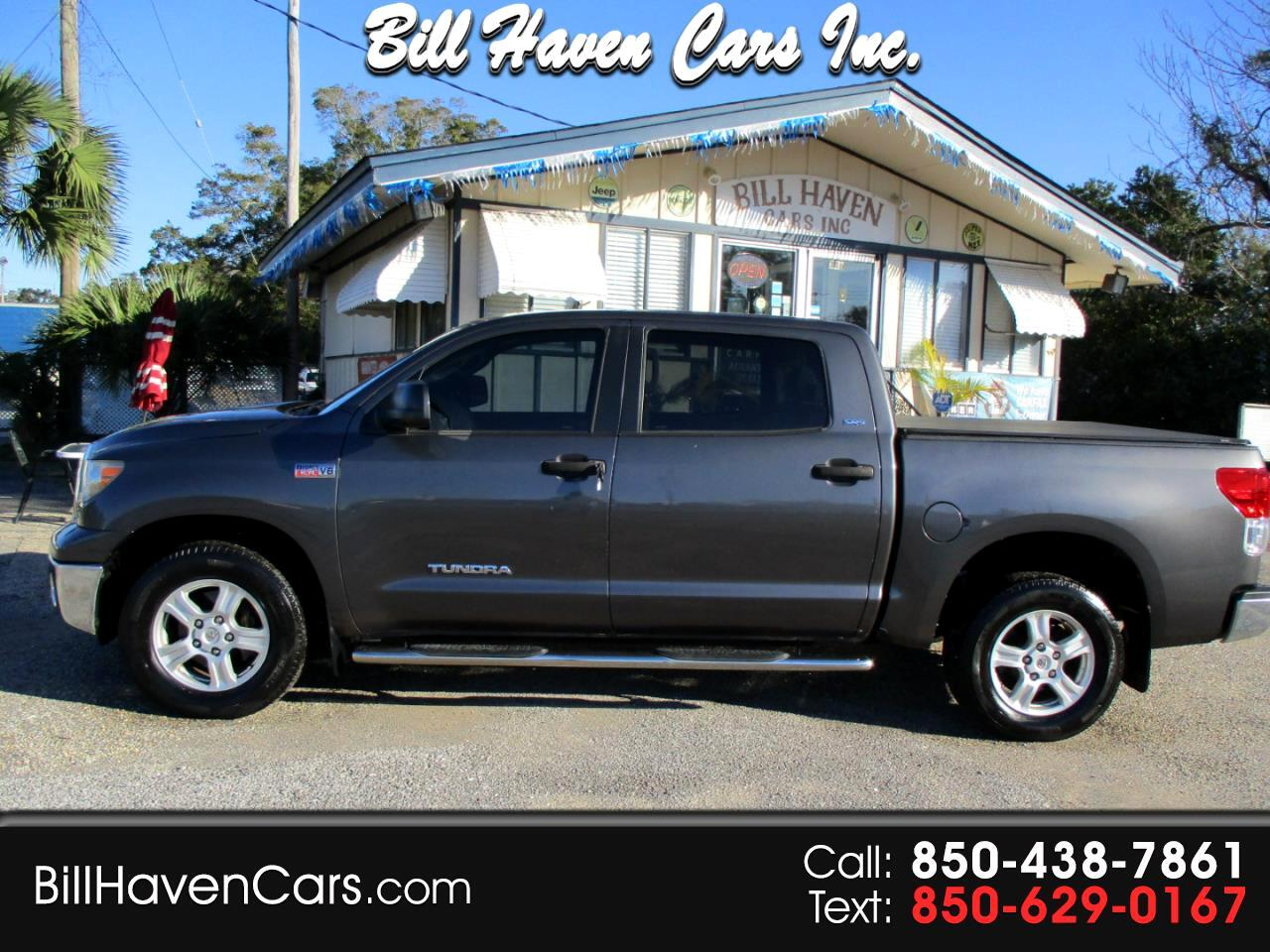 Toyota Tundra 2WD Truck CrewMax 5.7L V8 6-Spd AT  (Natl) 2011
