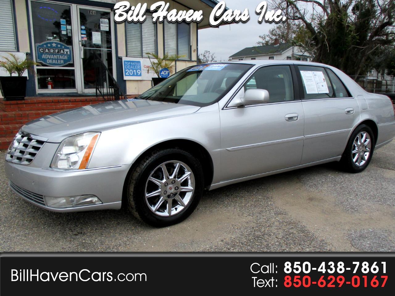Cadillac DTS 4dr Sdn w/1SC 2010
