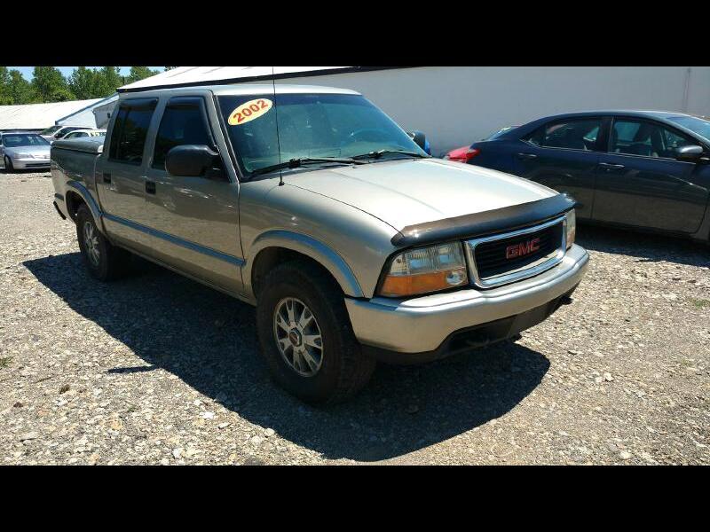 GMC Sonoma SLS Crew Cab 4WD 2002