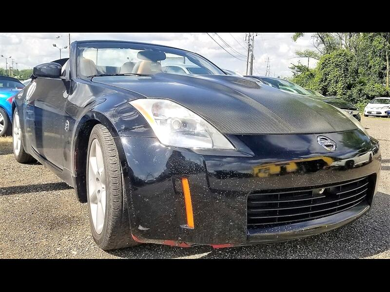 2005 Nissan 350Z  for sale VIN: JN1AZ36A65M752087