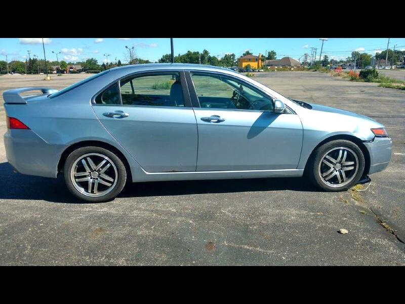Acura TSX 5-speed AT with Navigation System 2004