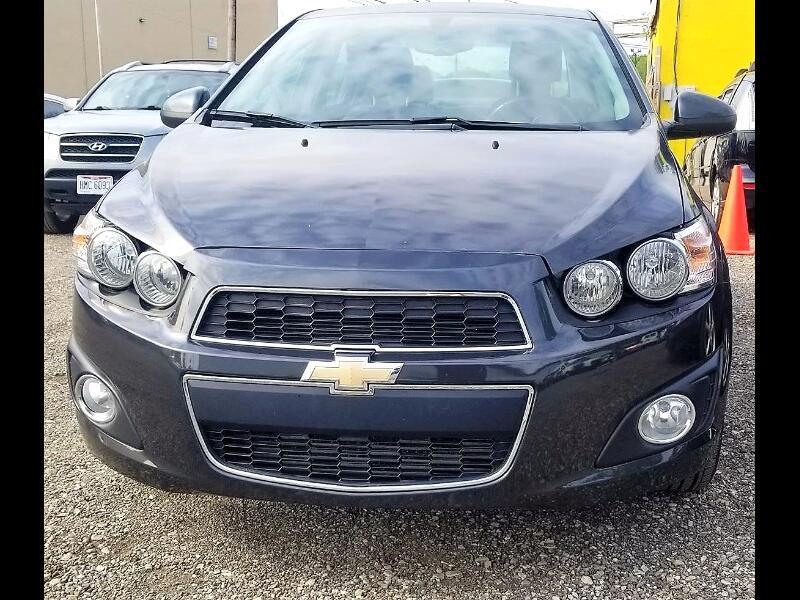 Chevrolet Sonic LTZ Auto Sedan 2015