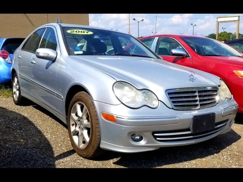 Mercedes-Benz C-Class C280 Luxury Sedan 4Matic 2007